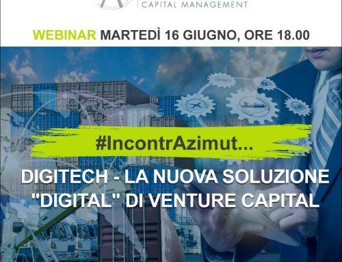 Webinar Azimut – Nuovo Fondo Digitech – 16/06/2020 ore 18