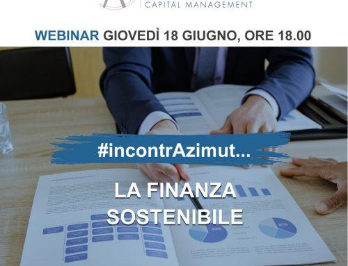 Webinar Azimut – La Finanza sostenibile – 18/06/2020 ore 18