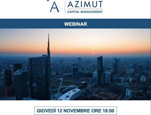 """Webinar """"INWIT – Operazione del Gruppo Azimut di Private Investment in Public Equity"""" – 12/11/2020 ore 18"""