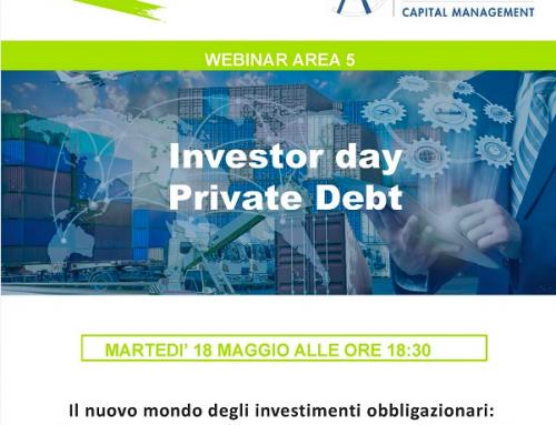 Webinar 18/05 ore 18.30 –  Investor Day Private Debt