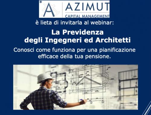 Webinar 22/06 ore 17.30 – La Previdenza degli Ingegneri e degli Architetti